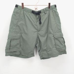 Men's REI Army Green Cargo Shorts